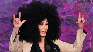 Cher Debuts Giant Afro at GLAAD Media Awards