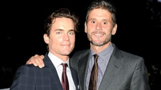 Matt Bomer, Partner Simon Halls Make Rare Public Appearance Together