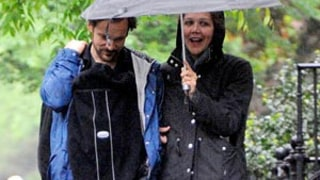 PIC: Maggie Gyllenhaal, Peter Sarsgaard Step Out With Baby Gloria Ray