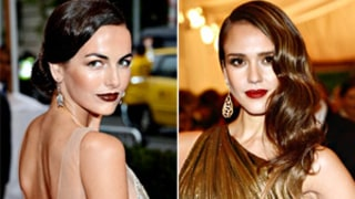 Stars in Super Dark Lipstick at the 2012 Met Gala: Love It or Hate It?