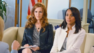 Scandal's Darby Stanchfield Teases Abby's Big Twist: She's 'Left Holding the Bag'