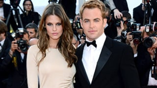 Chris Pine Makes Red Carpet Debut With Model Love Dominique Piek