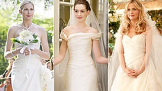 Stars' Glamorous TV and Movie Wedding Dresses
