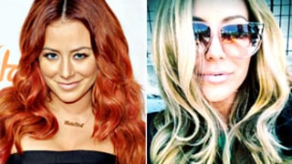 PIC: Aubrey O'Day Dyes Her Hair Back to Blonde