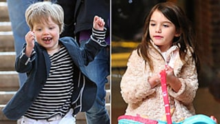 Shiloh Jolie Pitt vs. Suri Cruise: Style Showdown