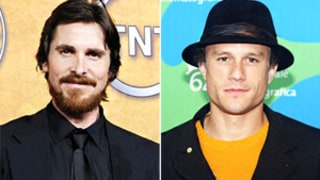 Teary-Eyed Christian Bale Chokes Up as He Remembers Heath Ledger
