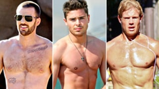 Hollywood's Hottest Hunks: Zac Efron, Chris Evans and More!