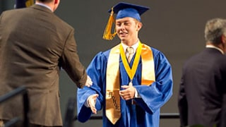 PIC: Scotty McCreery Graduates From Garner Magnet High School