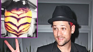 PIC: Joel Madden Rocks Tiger Stripes on His Head