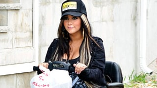 Pregnant Snooki Rides a Motorized Scooter