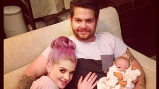 PIC: Aww! Kelly Osbourne Bonds With Brother Jack's Baby Pearl