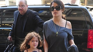 Salma Hayek: Daughter Valentina, 4, Was Banned from Savages Set