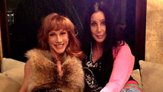 Kathy Griffin Has a Slumber Party at Cher's House!