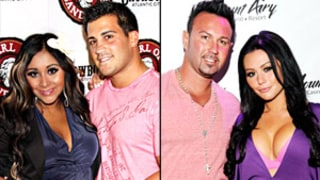 Pregnant Snooki Has Jersey Boys Double Date With JWoww