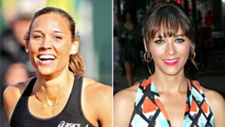 Lolo Jones Jokes With Lookalike Rashida Jones on Twitter!