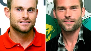 Andy Roddick and Seann William Scott