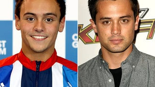 Tom Daley and Stephen Colletti