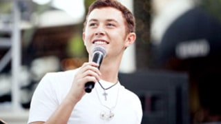 Scotty McCreery Falls Off Stage, Blames Brad Paisley