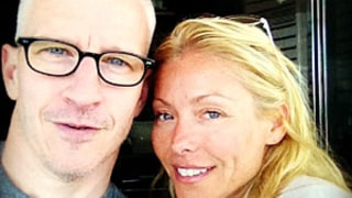 PIC: Kelly Ripa Poses Without Makeup Alongside Anderson Cooper!