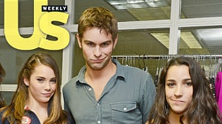Fierce Five Gymnasts Receive Surprise Visit From Chace Crawford!