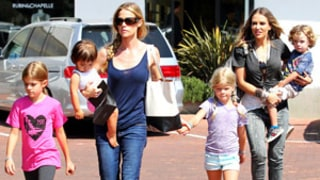 Charlie Sheen's Exes Denise Richards, Brooke Mueller Bond in Malibu!