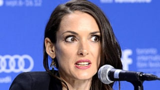Awkward! Winona Ryder Asked if She Feels