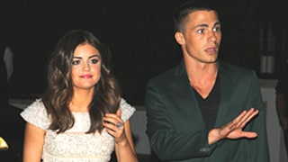 Lucy Hale: No, I'm Not Dating Colton Haynes!