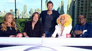 FIRST PIC: See New American Idol Judges Mariah Carey, Nicki Minaj, Keith Urban Join Randy Jackson, Ryan Seacrest!