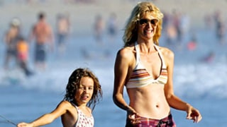 PIC: Laura Dern, 45, Shows Off Hot Bikini Bod at Beach With Daughter