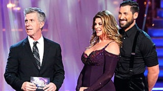 LOL! Kirstie Alley Gives Tom Bergeron Congratulatory Post-Emmys Kiss on DWTS Premiere