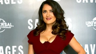 Salma Hayek Sexts With Husband, Worries About Her