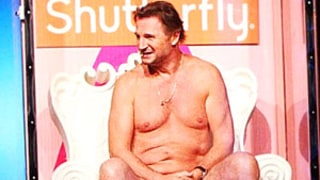 LOL! Liam Neeson Strips Down, Rocks Tiny, Bright Pink Briefs on Ellen