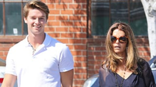 PIC: Maria Shriver, Son Patrick Schwarzenegger Step Out After Arnold's Tell-All Media Tour