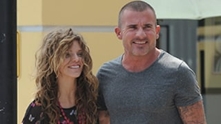 Newly Split AnnaLynne McCord, Dominic Purcell Meet Up for Brunch