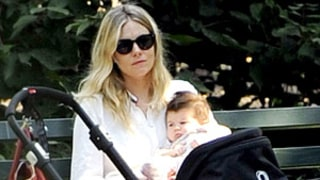 Sienna Miller, Daughter Marlowe Hang Out in NYC's Central Park