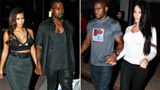 Reggie Bush, Pregnant Girlfriend Lilit Avagyan Dine Next Door to Kim Kardashian and Kanye West