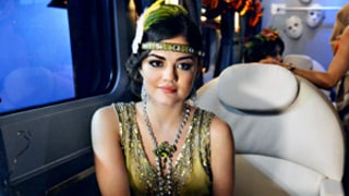 Pretty Little Liars: Masked Stranger Roofies Aria's Drink at Halloween Party