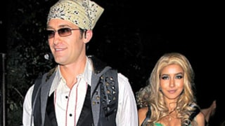 Matthew Morrison, Girlfriend Dress as Vintage Justin Timberlake, Britney Spears
