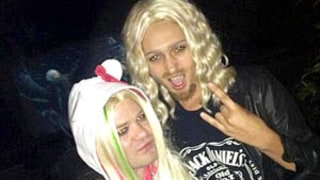 Deryck Whibley Dresses Up as Ex-Wife Avril Lavigne for Halloween