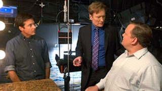 Conan O'Brien Tweets First Photo from Arrested Development Set