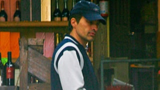 PICTURE: Bruised Olivier Martinez Hits Liquor Store Morning After Gabriel Aubry Brawl
