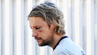 FIRST PICTURE: Gabriel Aubry Resurfaces With Black Eye After Olivier Martinez Fight