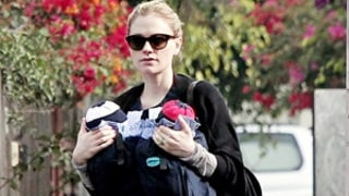 PICTURE: Slim Anna Paquin Carries Twins in Slings on Venice Beach Stroll