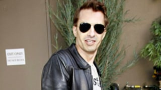 PICTURE: Olivier Martinez Leaves Hospital With Hand Brace Days After Gabriel Aubry Fight