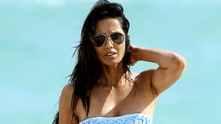 PICTURE: Padma Lakshmi, 42, Flaunts Amazing Bikini Body in Miami