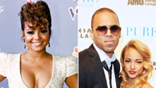 Christina Milian Says Karrueche Tran Is Still Chris Brown's