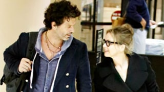 Renee Zellweger, New Boyfriend Doyle Bramhall II Pack on PDA at LAX
