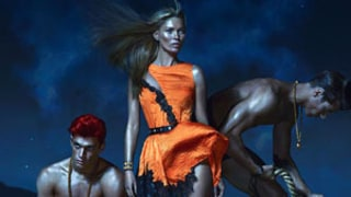 Kate Moss, 38, Looks Sexier Than Ever in Glam Versace Ad