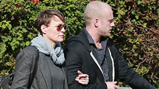 Robin Wright, 46, and Ben Foster, 32, Affectionate During Shopping Trip