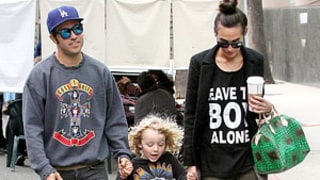 Pete Wentz: My Son Bronx, 4, Doesn't Want to Grow Up